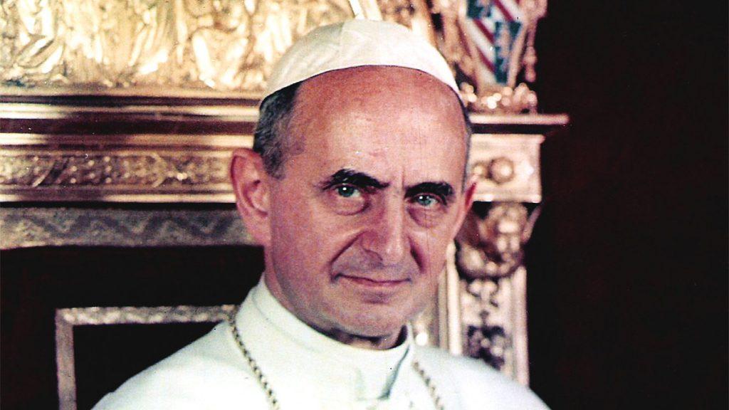 Pope Paul VI in 1963