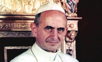 Pope Paul VI in 1963